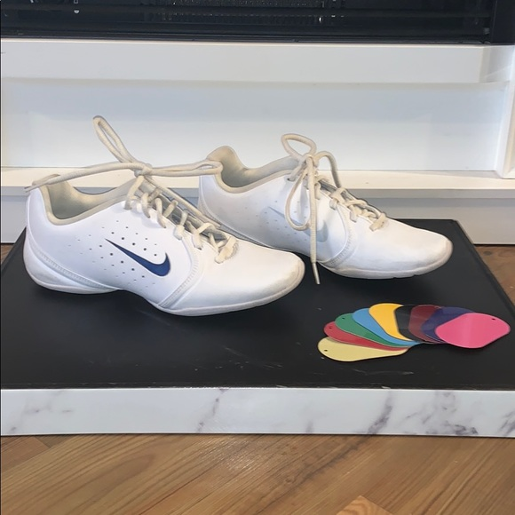 nike cheer shoes with color inserts off